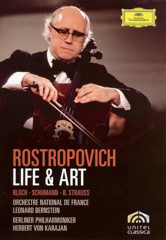 Mstislav Rostropovich - Rostropovich: Life & Art [DVD Video]