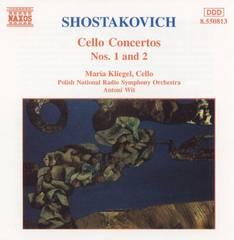 Maria Kliegel - Shostakovich: Cello Concertos Nos. 1 & 2