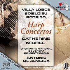Catherine Michel - Villa Lobos, Boïeldieu, Rodrigo: Harp Concertos