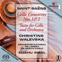 Eliahu Inbal - Saint-Saëns: Cello Concertos Nos. 1 & 2; Suite for Cello and Orchestra