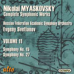 Evgeny Svetlanov - Myaskovsky: Symphonies Nos. 15 & 27