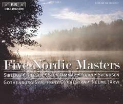Neeme Järvi - Five Nordic Masters