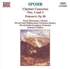 Ernst Ottensamer - Spohr: Clarinet Concertos Nos. 1 & 3