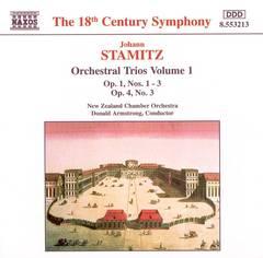 New Zealand Chamber Orchestra - Johann Stamitz: Orchestral Trios, Vol. 1