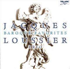 Jacques Loussier Trio - Baroque Favorites: Jazz Improvisations