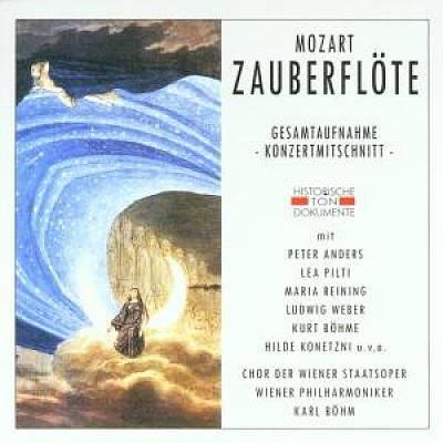 Karl Böhm - Mozart: Die Zauberflöte (Gesamtaufnahme, Konzertmitschnitt)