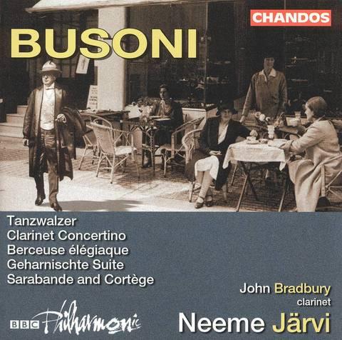 Neeme Järvi - Busoni: Orchestral Works