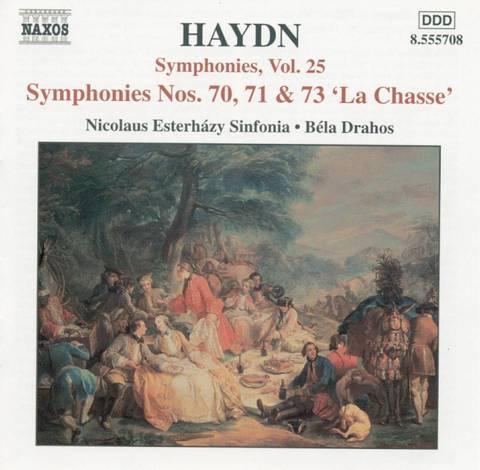 Haydn, J. - Haydn: Symphonies Nos. 70, 71 & 73