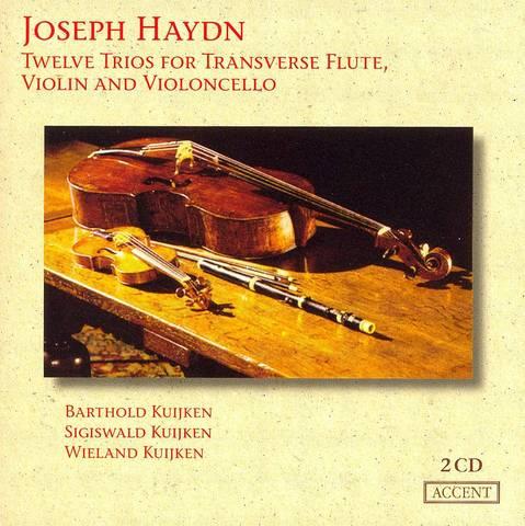 Haydn, J. - Joseph Haydn: Twelve Trios for Transverse Flute, Violin and Violoncello