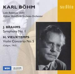 Karl Böhm - Brahms: Symphony No. 1; Vieuxtemps: Violin Concerto No. 5
