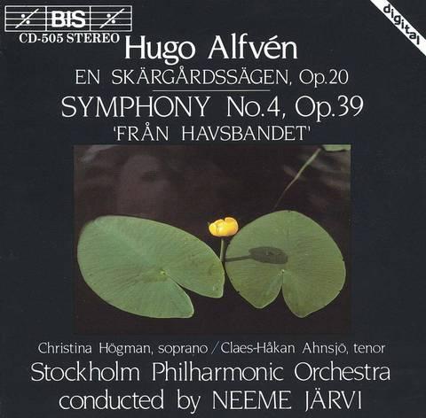 Neeme Järvi - Hugo Alfvén: En Skärgårdssägen; Symphony No. 4 'Från Havsbandet'