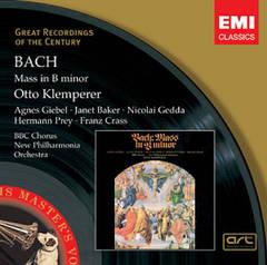 Bach, J.S. - Messe en Si - Giebel, Baker, Gedda, Prey, Crass, K