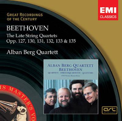 Beethoven, L. Van - Beethoven : Quat. Cordes Op.127, 130-133, 135 (Liv