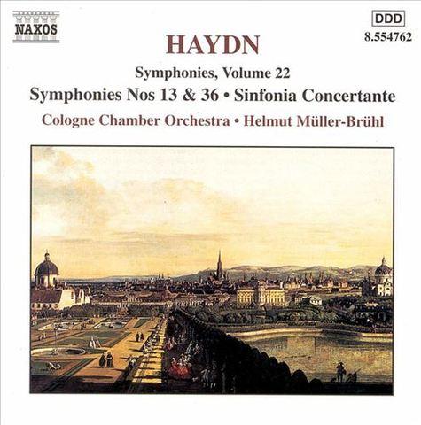 Haydn, J. - Haydn Symphonies, Vol. 22