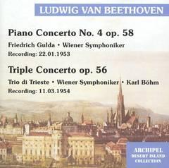 Beethoven, L. Van - Beethoven: Piano Concerto No. 4; Triple Concerto