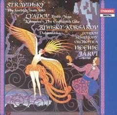 Neeme Järvi - Stravinsky: The Firebird Suite; Lyadov: Baba-Yaga; Rimsky-Korsakyov: Dubinushka