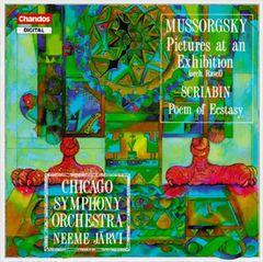 Neeme Järvi - Mussorgsky: Pictures at an Exhibition; Scriabin: Poem of Ecstasy, Op. 54