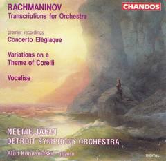 Neeme Järvi - Rachmaninov: Transcriptions for Orchestra