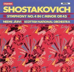 Neeme Järvi - Shostakovich: Symphony No. 4 in C minor, Op. 43