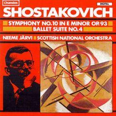 Neeme Järvi - Dmitri Shostakovich:Symphony No. 10/Ballet Suite No. 4
