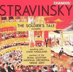 Neeme Järvi - Stravinsky: The Soldier's Tale