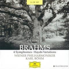 Karl Böhm - Brahms: 4 Symphonies; Haydn Variations
