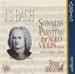 Bach, J.S. - J.S. Bach: Sonatas & Partitas for Solo Violin, Vol. 2