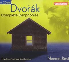 Neeme Järvi - Dvorák: Complete Symphonies [Box Set]