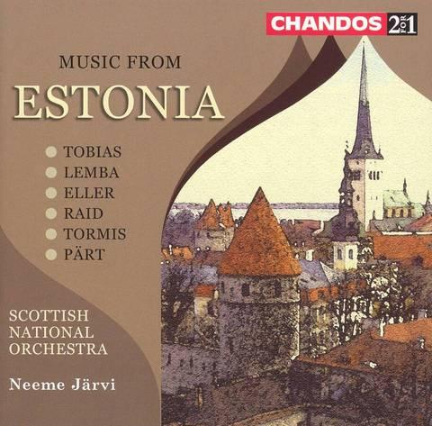 Neeme Järvi - Music from Estonia