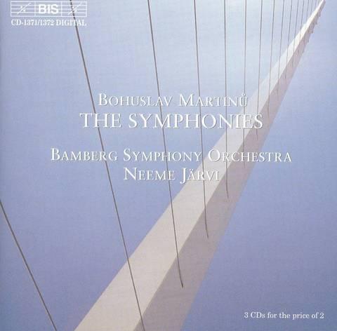 Neeme Järvi - Martinu: The Symphonies