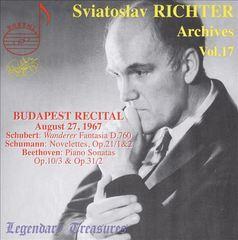 Sviatoslav Richter - Sviatoslav Richter Archives, Vol. 17: Budapest Recital, 1967