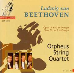 Beethoven, L. Van - Beethoven: String Quartets, Opp. 18/3 & 59/1