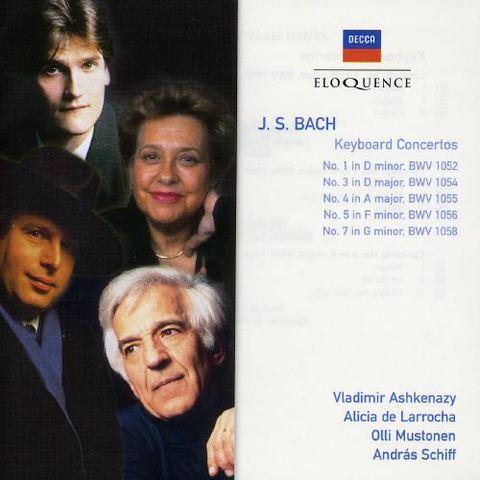Bach, J.S. - Bach: Keyboard Concertos [Australia]