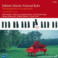 VARIOUS ARTISTS - Edition Klavier-Festival Ruhr: Transkriptionen & Paraphrasen