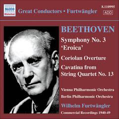 Beethoven, L. Van - Beethoven: Symphony No.3 'Eroica'; Coriolan Overture