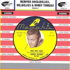 VARIOUS ARTISTS - Memphis Rockabillies, Hillbillies & Honky Tonkers Vol. 4