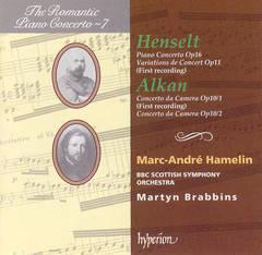 Marc-André Hamelin - Henselt: Piano Concerto, Op. 16; Variations de Concert, Op. 11; Alkan: Concerto da Camera, Op. 10/1; Concerto da Came