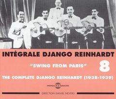 Django Reinhardt - Integrale Django Reinhardt, Vol. 8: 1938-1939