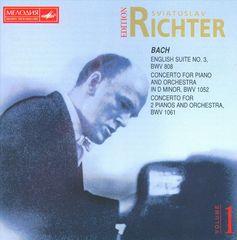 Sviatoslav Richter - J.S. Bach: English Suite No. 3; Concertos BWV 1052 & 1061