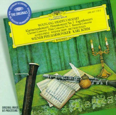 Karl Böhm - Mozart: Clarinet Concerto; Flute Concerto No. 1; Bassoon Concerto