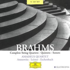 Amadeus Quartet - Brahms: Complete String Quartets, Quintets & Sextets [Box Set]