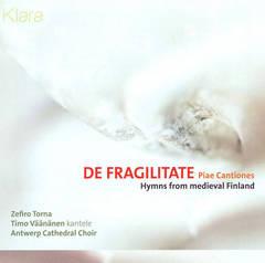 Zefiro Torna - De Fragilitate: Piae Cantiones