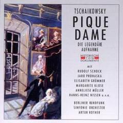 Artur Rother - Tschaikowsky: Pique Dame (Legendäre Aufnahme)
