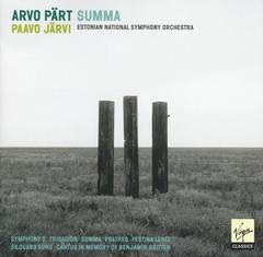 Paavo Järvi - Arvo Pärt: Summa
