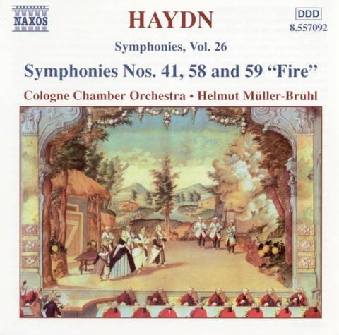 Haydn, J. - Haydn: Symphonies Nos. 41, 58 and 59