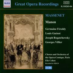 Massenet, J. - Massenet: Manon