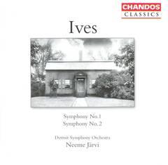 Neeme Järvi - Ives: Symphonies Nos. 1 & 2
