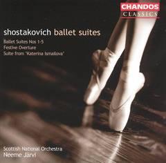 Neeme Järvi - Shostakovich: Ballet Suites