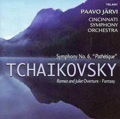 """Paavo Järvi - Tchaikovsky: Symphony No. 6 """"Pathétique""""; Romeo and Juliet Fantasy Overture"""