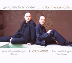 Handel, G.F. - Georg Friedrich Händel a Flauto e Cembalo